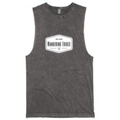 Wandering Tribes Badge T-shirt - Plain Back